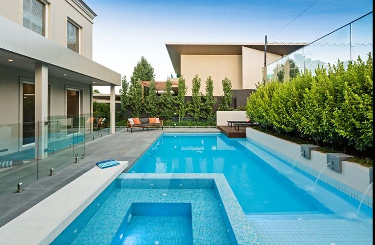 2018 landscaping victoria industry awards for Pool designs under 30000