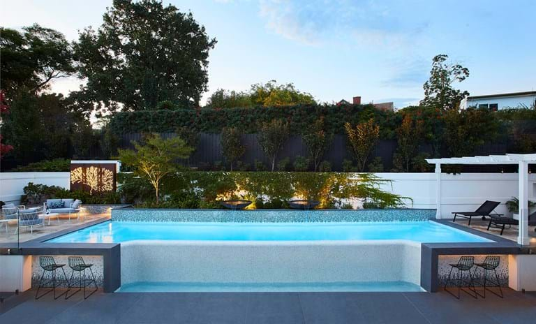 Pool in the Landscape - TLC Pools